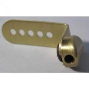 Fixation dorée pour coussin alto côté large (KUN2AL-B)
