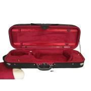 Etui alto modèle conservatoire 40.5-42cm noir/bordeaux (A2015-BKBX)