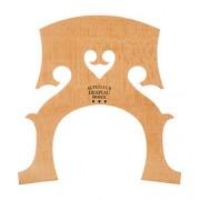 Chevalet violoncelle baroque Despiau, coeur normal, érable traité, qualité A, 90 mm (CB2A-90)