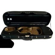Etui violon 4/4 modèle LUXE noir/noir-beige (2030-NB)
