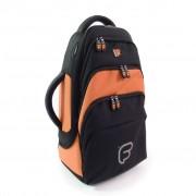 Gig Bag FUSION pour Bugle Noir / Orange (F1-207)