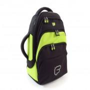 Gig Bag FUSION pour Bugle Noir / Citron (F1-208)