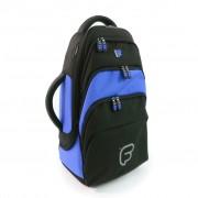 Gig Bag FUSION pour Bugle Noir / Bleu (F1-209)