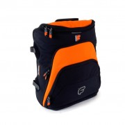 "Sac à dos Workstation I.Pad ou Netbook 13"" - 15"" FUSION Noir / Orange(F1-27)"