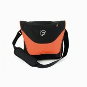 "Sac courrier ordinateur 13"" et 15"" FUSION noir/orange (F1-23)"