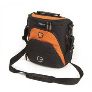 "Sac micro Workstation I.Pad ou Netbook 13"" - 15"" FUSION noir/orange (F1-85)"