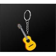 Porte clefs guitare acoustique (MDKC29) *** PRIX NET ***