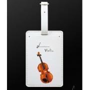 Etiquette bagage violon (MDLT13) ***PRIX NET***