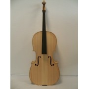 Violon blanc 4/4 de fabrication semi-artisanale (VB-BL)